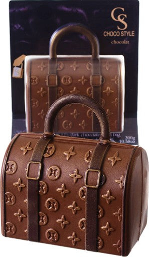 Chocolate LV Purse - dark on milk