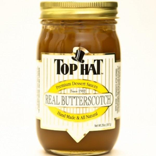 Real Butterscotch Sauce 20 Oz - Chocolate.org
