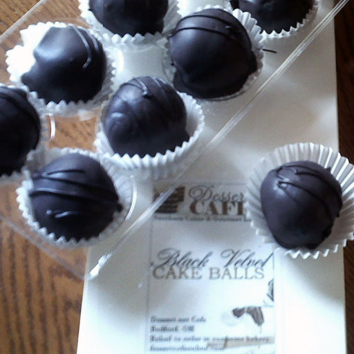 Black Velvet Cake Balls - Chocolate.org