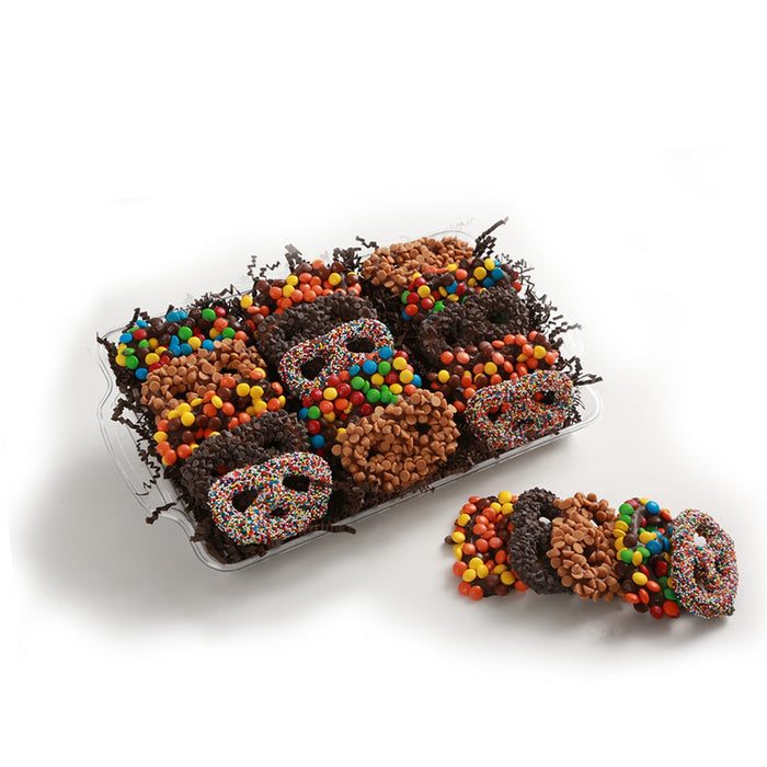 Assorted Chocolate Covered Pretzels