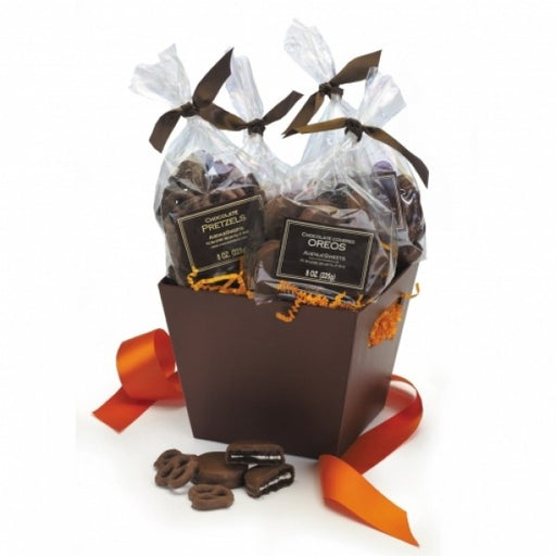 Chocolate Treats Fall Gift Basket - Chocolate.org