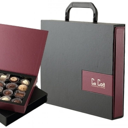 Executive Marquee Milk Chocolate Filled Attache Case - Chocolate.org