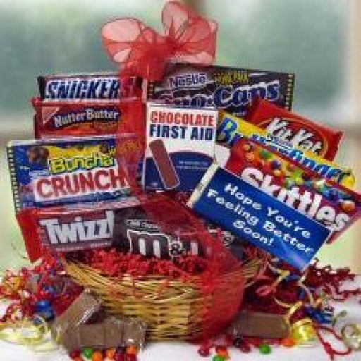 Chocolate Recovery Gift Basket