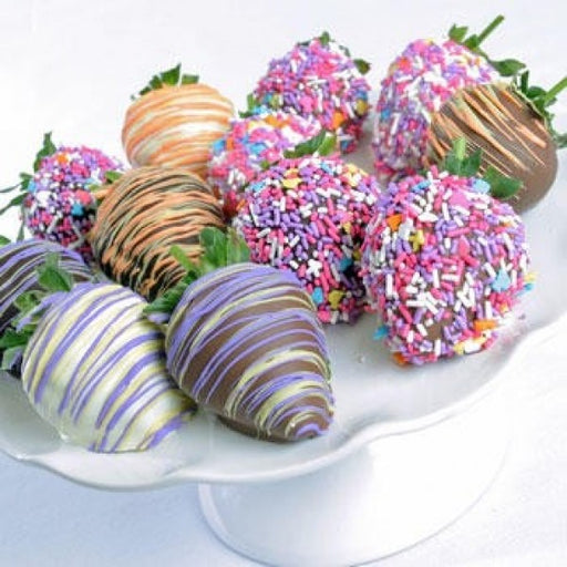 12 Easter Chocolate Covered Strawberries