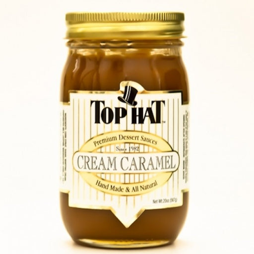 Cream Caramel Sauce 20 Oz - Chocolate.org