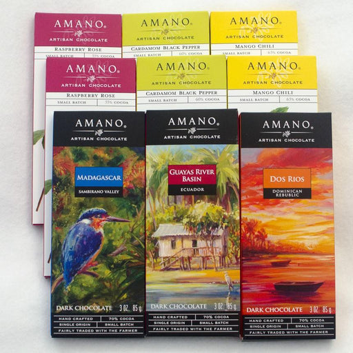 Amano Chocolate 9 Bar Sampler
