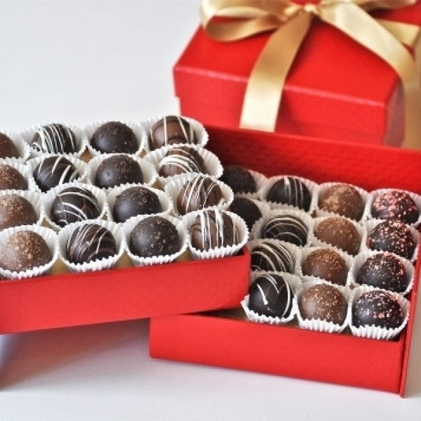 Christmas And Holiday Ultimate Truffle Gift Box - Chocolate.org