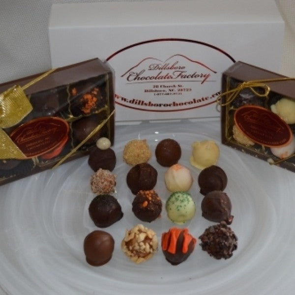 Assorted Truffle Box With 8 Unique Flavors