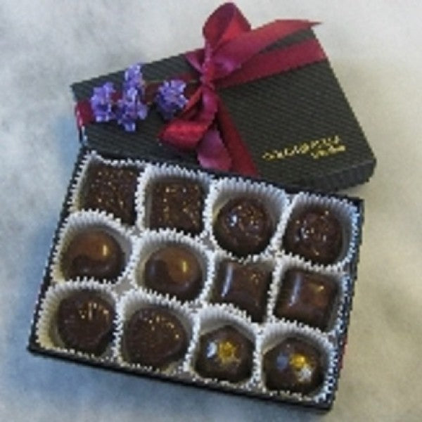 12 Piece Seasonal Assortment - Chocolate.org