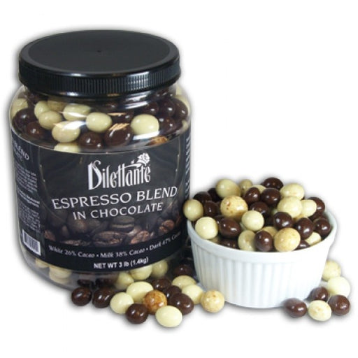 Chocolate Espresso Bean Blend 3 Lb Jar By Dilettante