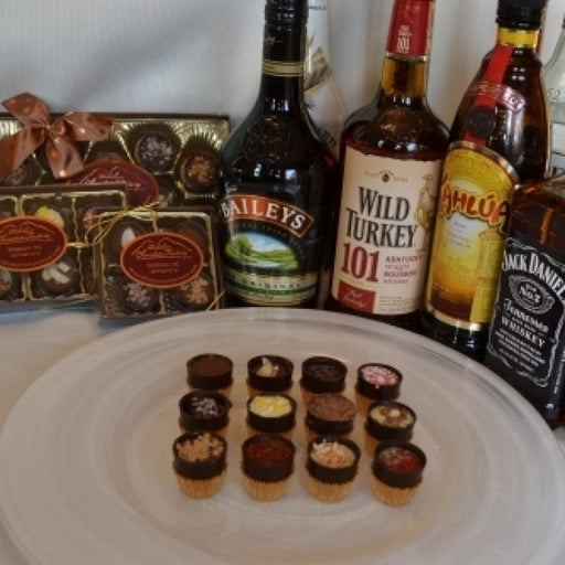 Big Shooters Sampler With 8 Liquor/Alcohol Filled Chocolates