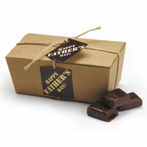 Chocolate Caramels In A Father's Day Gift Box
