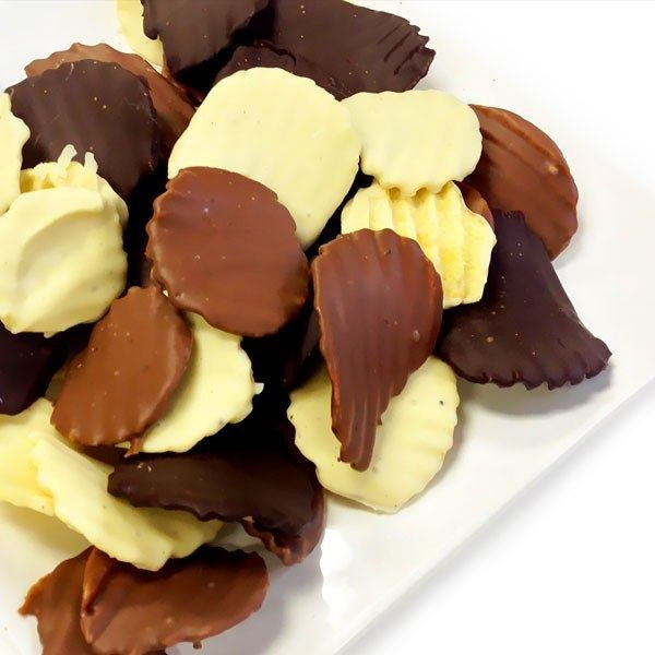 Milk Chocolate Covered Bacon Potato Chip 8 oz.