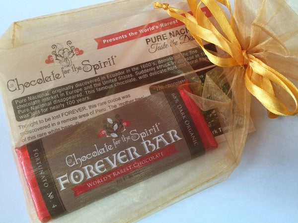 "World's Rarest Chocolate ""Forever Bar"""