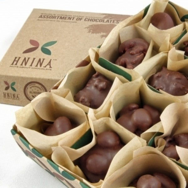 Assortment Box Of 12 Nut And Seed Truffles ROASTED Line