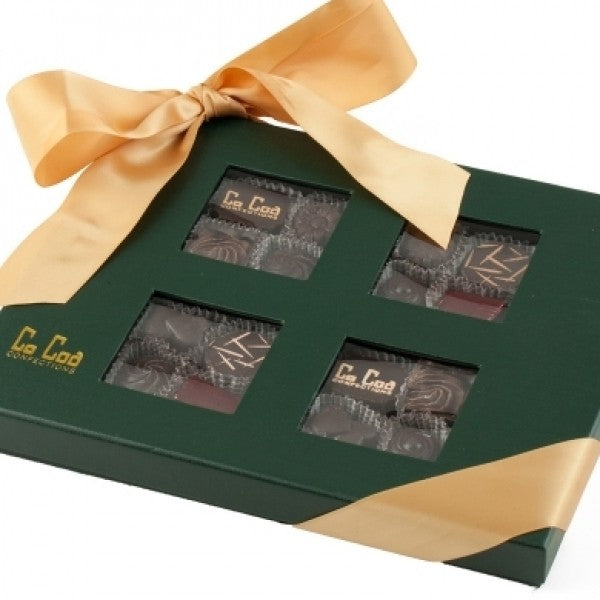 FOPIERRE GOLD DARK CHOCOLATE GIFT BOX - Chocolate.org