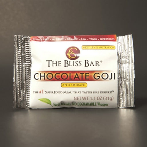 Chocolate Goji Bliss Bar - Chocolate.org