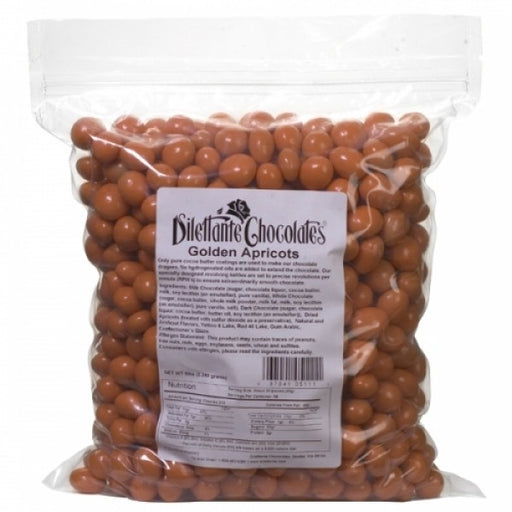 Apricots In Premium Milk Chocolate 5 Lb Bulk Bag