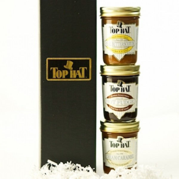 Sauce Trio Gift Box - Chocolate.org