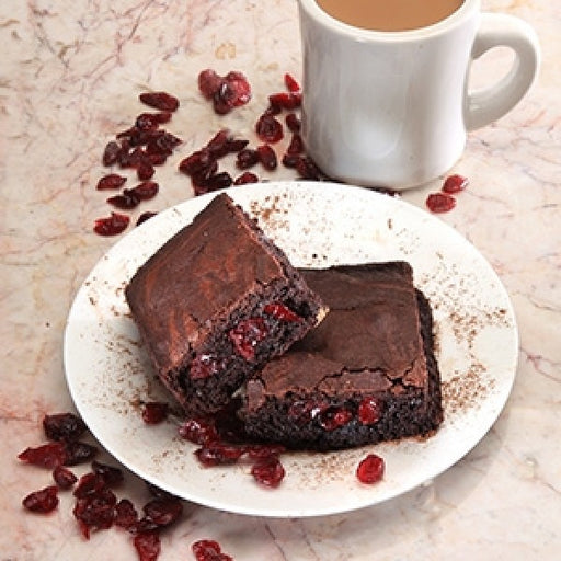 Cranberry Extra Fudgy Brownies