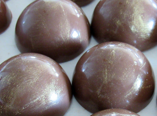 Caramel in Dark or Milk Chocolate/ ALL NATURAL / 12 count - Chocolate.org