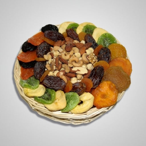 Tu B Shvat Dry Fruits And Nuts Medley - Chocolate.org