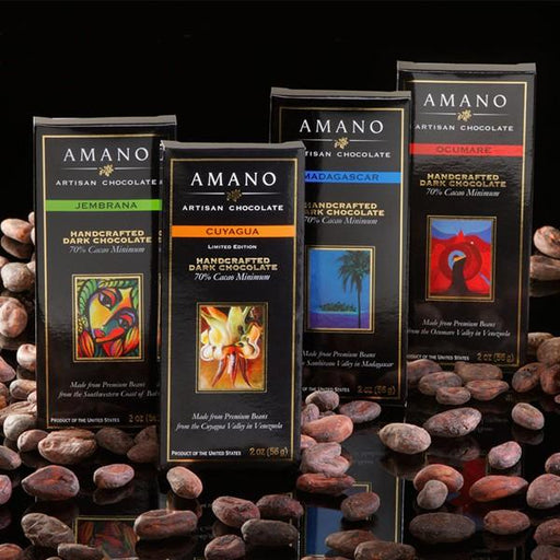 Amano Chocolate 4 Bar Sampler - Chocolate.org