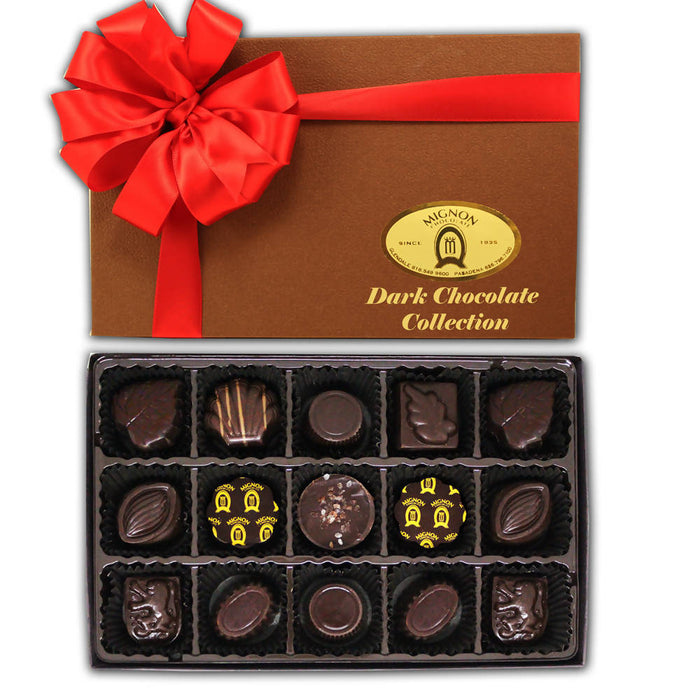 Dark Chocolate Collection  15 Pieces - Chocolate.org