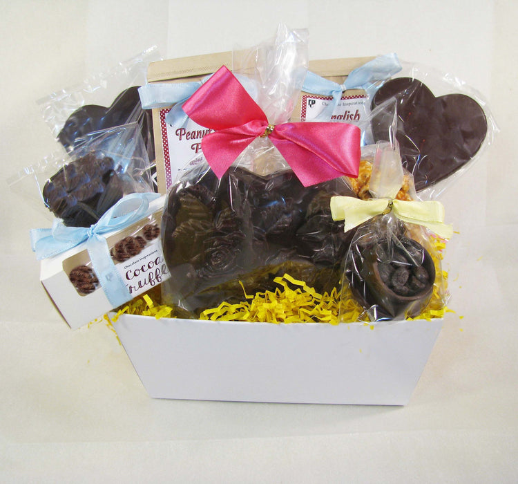 Something Special for Mom Vegan Dairy Free Mother's Day Gift Basket - Chocolate.org