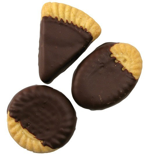 Chocolate Dipped Shortbread Cookies Milk Chocolate 5pc Bag