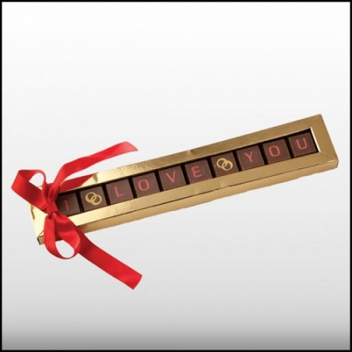I Love You Chocolate Greeting