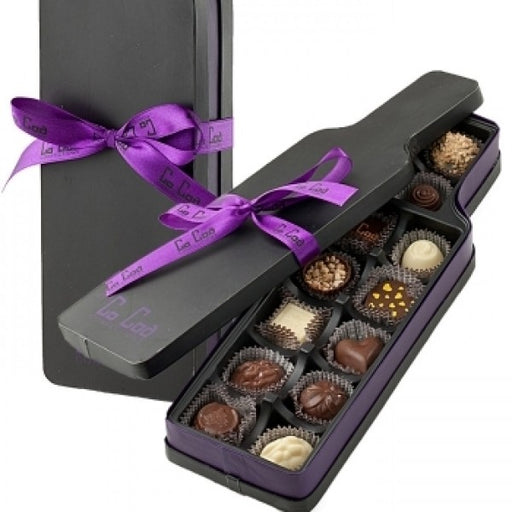 Wine Shaped Milk Chocolate Gift Box
