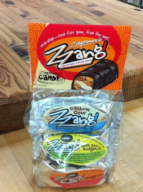 Zzang!® Candy Bar Mini Variety 6-pack - Chocolate.org
