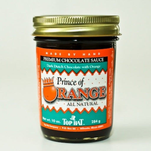Prince Of Orange Fudge Sauce 10 Oz - Chocolate.org