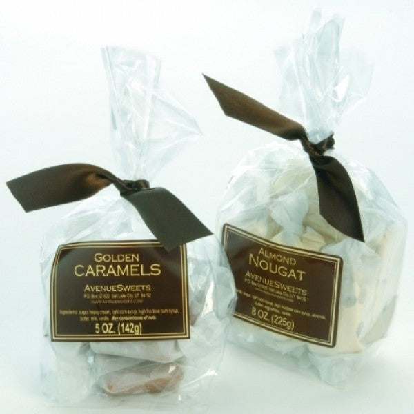 5oz Bag Vanilla Caramels - Chocolate.org