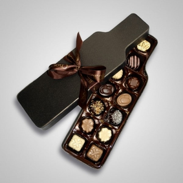 Wine Bottle Chocolate Gift Box