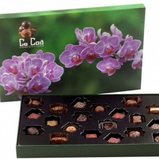 ORCHID CHOCOLATE GIFT BOX