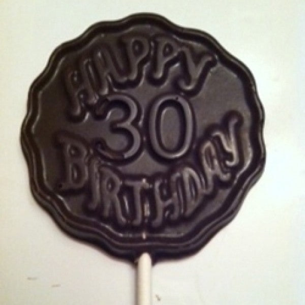 30th Birthday Pop - Chocolate.org