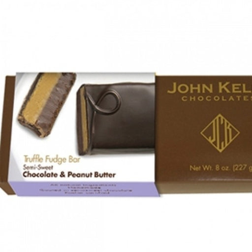 Single 8 Oz Semi Sweet Chocolate Peanut Butter Bar - Chocolate.org
