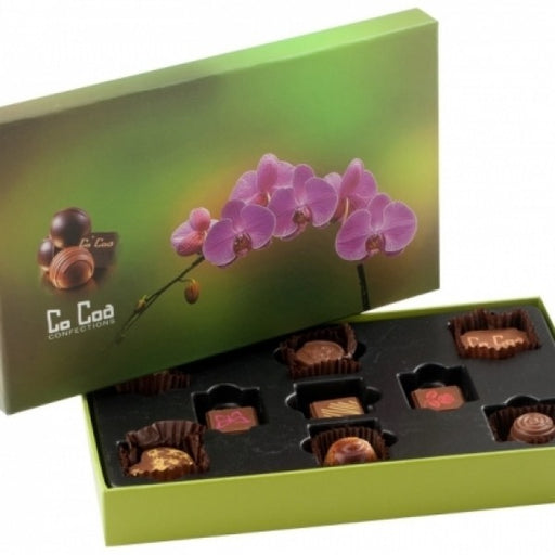 ORCHID STEM CHOCOLATE GIFT BOX - Chocolate.org