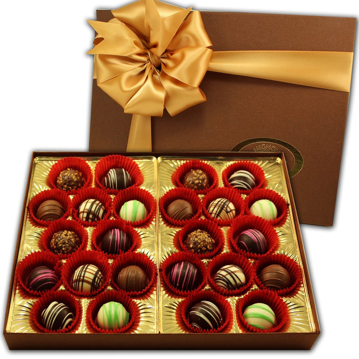 Truffle Collection 24 Piece - Chocolate.org