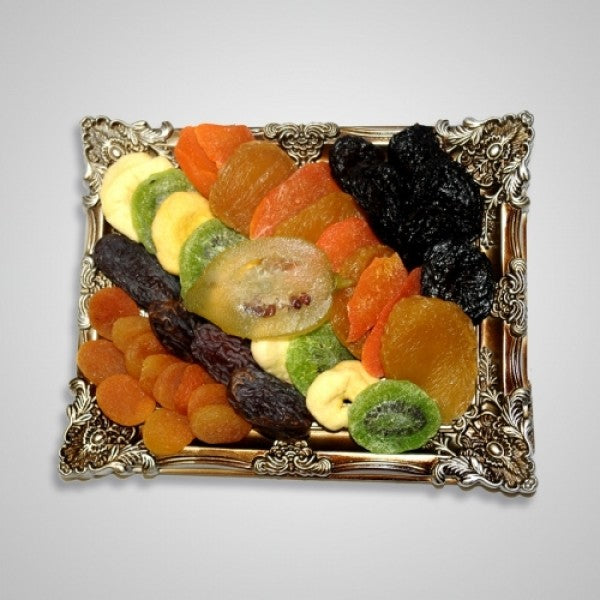 Tu B Shvat Picture Frame With Dried Fruits - Chocolate.org