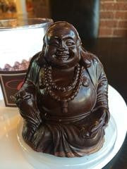 Organic Woodstock Chocolate Buddha - Chocolate.org