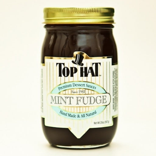 Mint Fudge Sauce 20 Oz - Chocolate.org