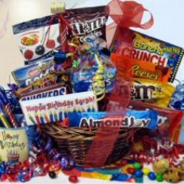 Blow Out The Candles Chocolate Gift Basket