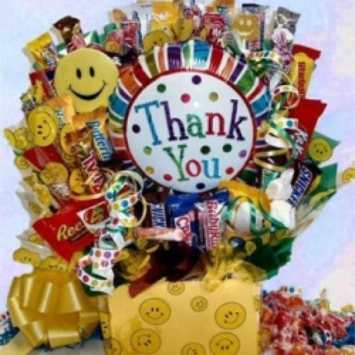 Thank You Chocolate Gift Basket - Chocolate.org