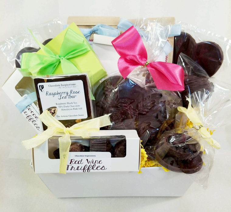 Mom's the Best Vegan Dairy Free Mothers Day Gift Basket - Chocolate.org