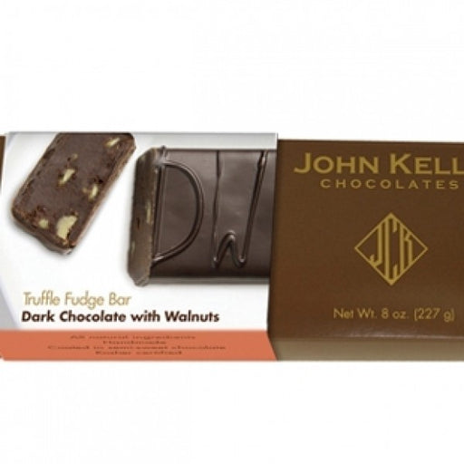 Single 8 Oz Dark Chocolate With Walnuts Bar