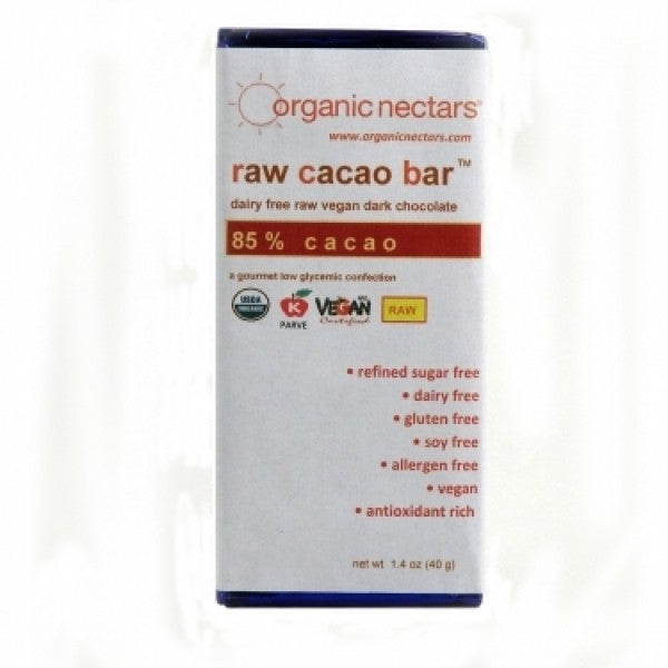 40g 85 Percent Raw Cacao Bar