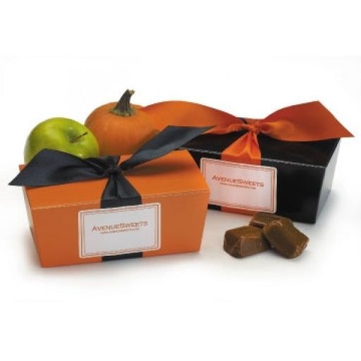 Pumpkin Spice And Dutch Apple Caramels - Chocolate.org